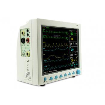 患者モニタCMS8000心電図、APO2、NIBP、RESP,2-TEMP、PR機能搭載