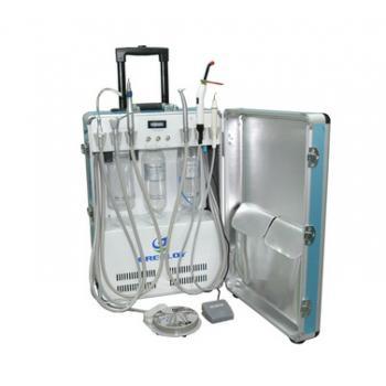 Greeloy®歯科用ポータブル診療ユニット GU-P206(エアーコンプレッサー付き)