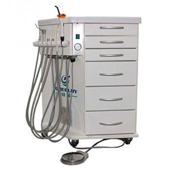 Greeloy®歯科用ポータブル診療ユニット GU-P212 4ホールタイプ (キャビネット式)