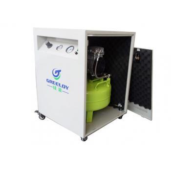 Greeloy®オイルレス エアーコンプレッサー 消音ケースGA-61X