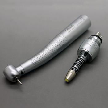 COXO®CX207-GS-TP歯科用ライト付き高速タービン(Sirona®R/Fと互換、カップリング付き)H16-STPQ6