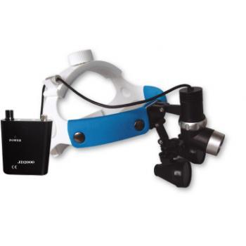 Micare®歯科用双眼ルーペ2.5倍拡大鏡&歯科用LEDヘッドライトJD2000 III(5W)セット