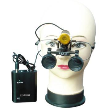 Micare®歯科用双眼ルーペ2.5倍拡大鏡&ポータブルLEDヘッドライトJD2200 セット