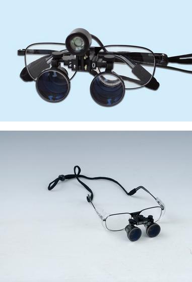 歯科用双眼ルーペ(2.5X拡大鏡)YS-DL-A