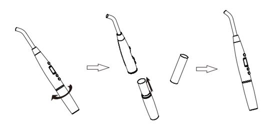 Vrn®V200歯科用光重合レジン照射器
