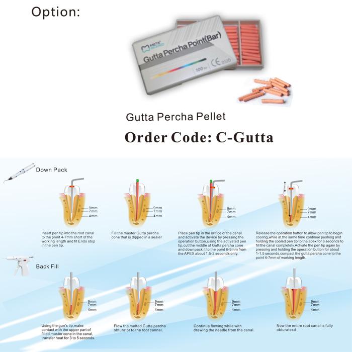 COXO®アップグレード版歯科根管材料電気加熱注入器C-Fill α pack& β pack 【第二世代】